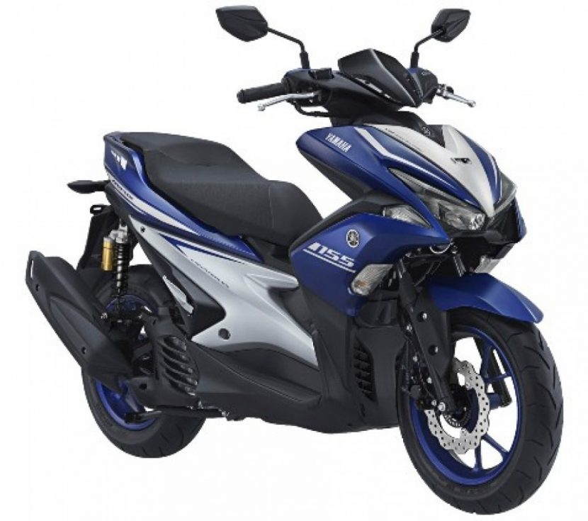 Yamaha Aerox  155 VVA R Version Laris Manis