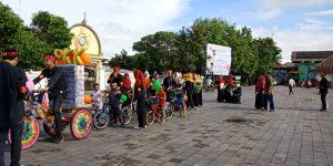 Rumah Baca Komunitas, pawai keliling kauman Yogyakarta, Ahad (11/3/2018)