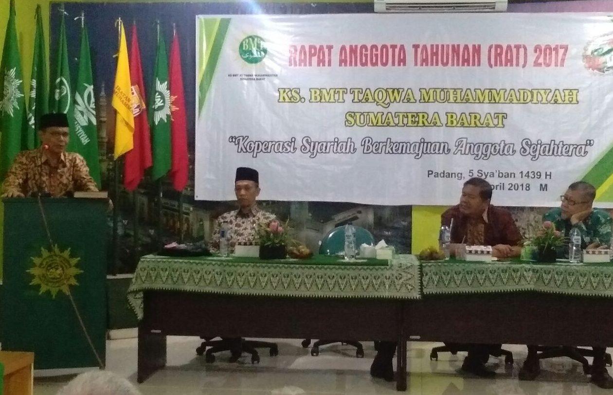 Koperasi Syariah Bmt Attaqwa Gelar Rapat Anggota Tahunan Menara62