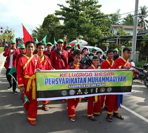 Muhammadiyah Pulang Pisau, Peserta Terbaik 1 Pawai Ta'aruf