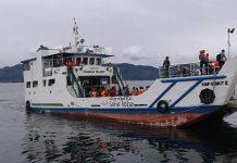 Pencarian Korban Kecelakana Kapal di Danau Toba