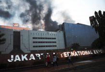 Gedung PRJ Terbakar