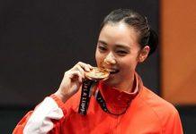 Pewushu Lindswell Raih Emas Kedua Untuk Indonesia