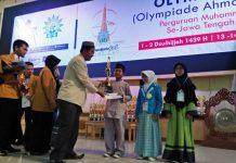SD Muhammadiyah 1 Ketelan, Raih 3 Juara 1 di Olympiade Ahmad Dahlan VI