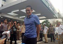 Hari Ini, Pemeriksaan Kesehatan Prabowo-Sandiaga