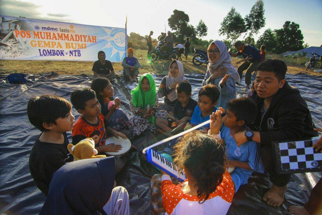 Muhammadiyah Karanganyar Galang Dana Bantuan Bagi Korban Gempa Lombok