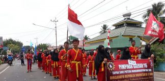 Pimda 116 Tapak Suci Kabupaten Lahat Ikut Karnaval Hari Kemerdekaan
