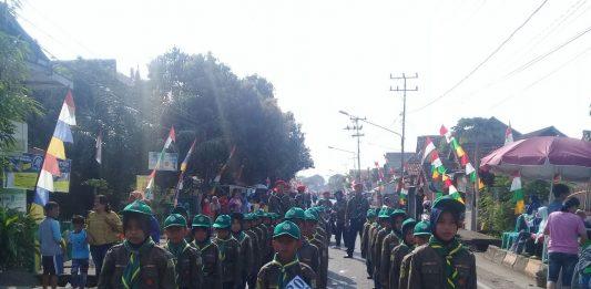 SD Muhammadiyah Padang Bindu Juara Umum Karnaval Tingkat Kecamatan
