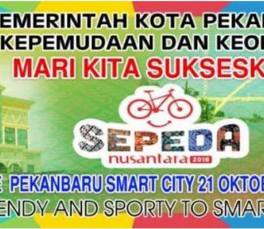 Sepeda Nusantara Jadi Ajang Promosi Wisata Pekanbaru