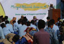LPP Al Irsyad Surakarta Adakan Penggalangan Dana dan Sholat Istisqo
