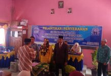 PDM Lahat Lantik Kepala Sekolah SD, SMP dan SMA Muhammadiyah Lahat
