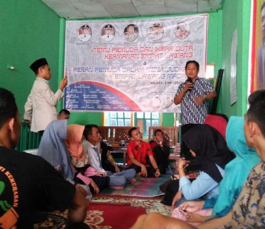 Pemuda Empat Lawang Ikut Bertanggungjawab Pada Kemajuan Daerah