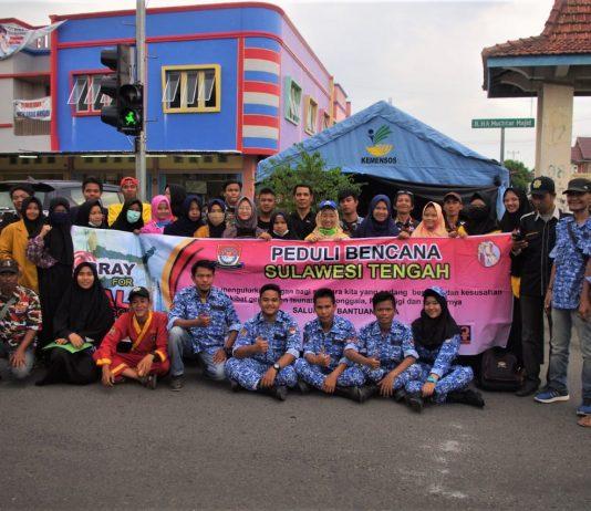 Pemuda Lahat Galang Dana Bagi Korban Gempa dan Tsunami Sulteng