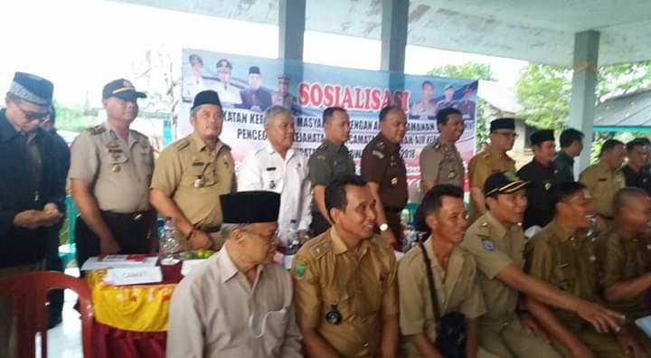 Bupati Empat Lawang Sosialisasi Keamanan di Kecamatan Ulumusi dan Paiker