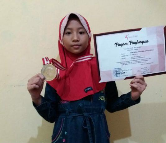 Siswi SD Muhammadiyah 1 Juara 2 Lomba Freehand Tingkat Provinsi Jawa Tengah