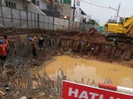 Jalan Otista 3 Jakarta, Ditutup Tiga Bulan Untuk Konstruksi Ciliwung