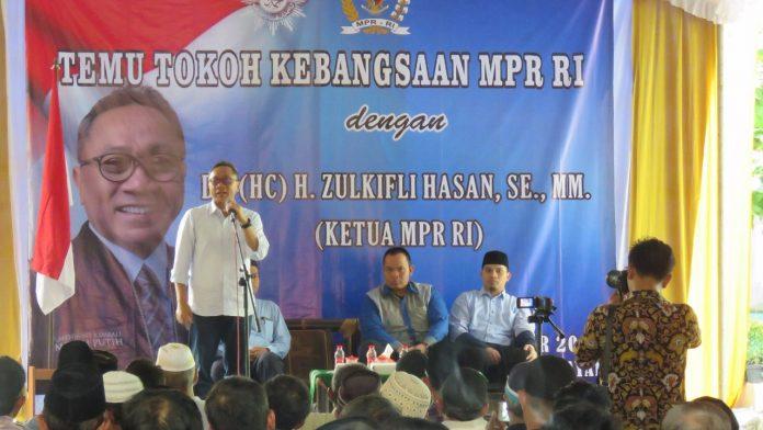Ketua MPR RI Ajak Jadi Pelopor Pemilu Damai