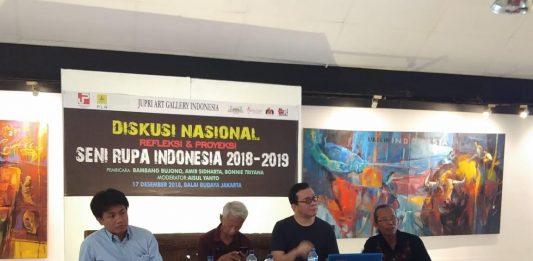 Seniman Bahas Strategi Membangun Seni Rupa Indonesia Masa Depan