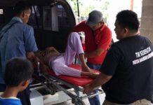 Posko kesehatan di Lampung Selatan