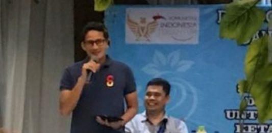 Sandiaga: Indonesia Punya Potensi dan Fenomena Luar Biasa