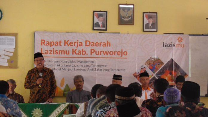 Lazismu Purworejo Tingkatkan Target 2019 Jadi Rp 7 miliar