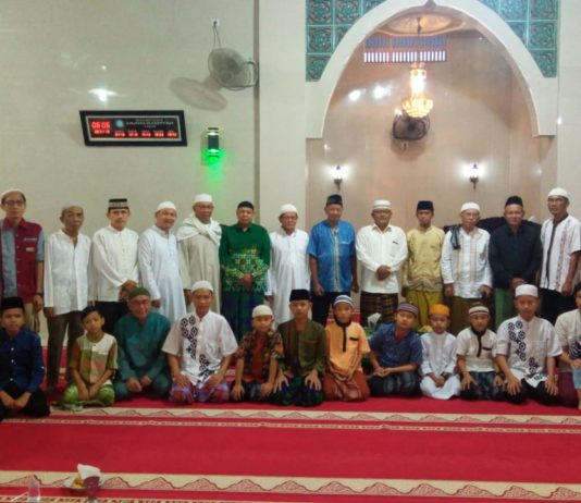 Pengurus Masjid Raya Muhammadiyah Lahat Gelar Pengajian Subuh