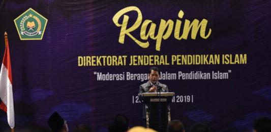 Direktur Jenderal Pendidikan Islam Kementerian Agama, Kamaruddin Amin