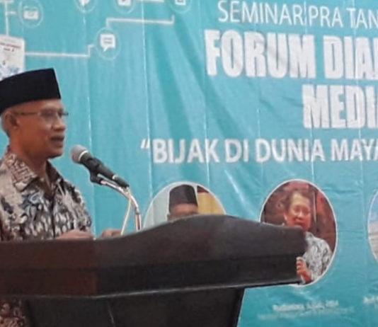 Muhammadiyah Beri Edukasi Literasi Yang Berkeadaban