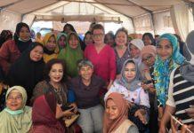 Soroptimist International Bantu Wanita Palu dan Lombok Pasca Gempa