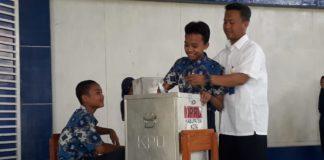 Pemilihan Ketua IPM Ala Pemilu di SMP Muhammadiyah Lebaksiu