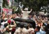 Prabowo Bakar Semangat Pendukungnya