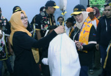 Peresmian Bank Sampah Selaras Mandiri oleh Manajemen PT Pegadaian (Persero) di Kebon Kosong, Kemayoran Jakpus. (ist/dok.pegadaian)