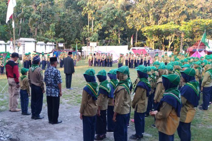 Siswa Dari Empat SD Muhammadiyah Ikut Perkemahan di Sleman