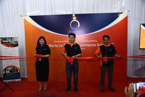 Jet Commerce Resmikan Pusat Gudang dan Pelayanan Pengiriman Barang