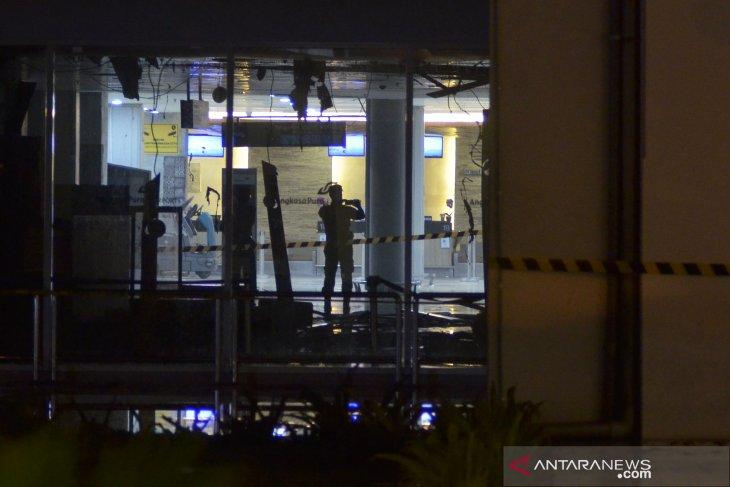Foto Pasca Kebakaran Bandara Ngurah Rai