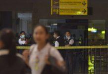 Bandara Ngurah Rai Terbakar