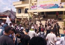 Aliansi Bela Kedaulatan Rakyat Gelar Aksi di DPRD Kabupaten Lahat