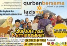 Lazismu Kabupaten Banjar Tebar Kurban ke Daerah Terpencil