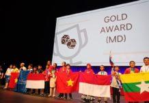 Siswa SMP Muhammadiyah PK Kottabarat Raih Penghargaan di Forum Internasional
