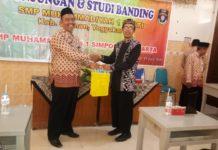 SMP Muhammadiyah 1 Simpon Berbagi Dengan SMP Muhammadiyah 1 Sleman