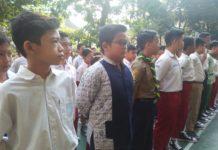 Hari Pertama di SMP Muhammadiyah 1 Simpon