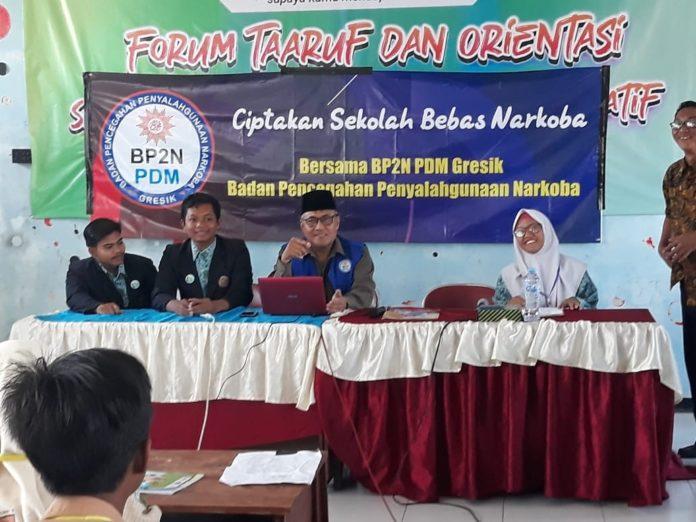 SMK Muhammadiyah 1 Gresik siap Perangi Narkoba