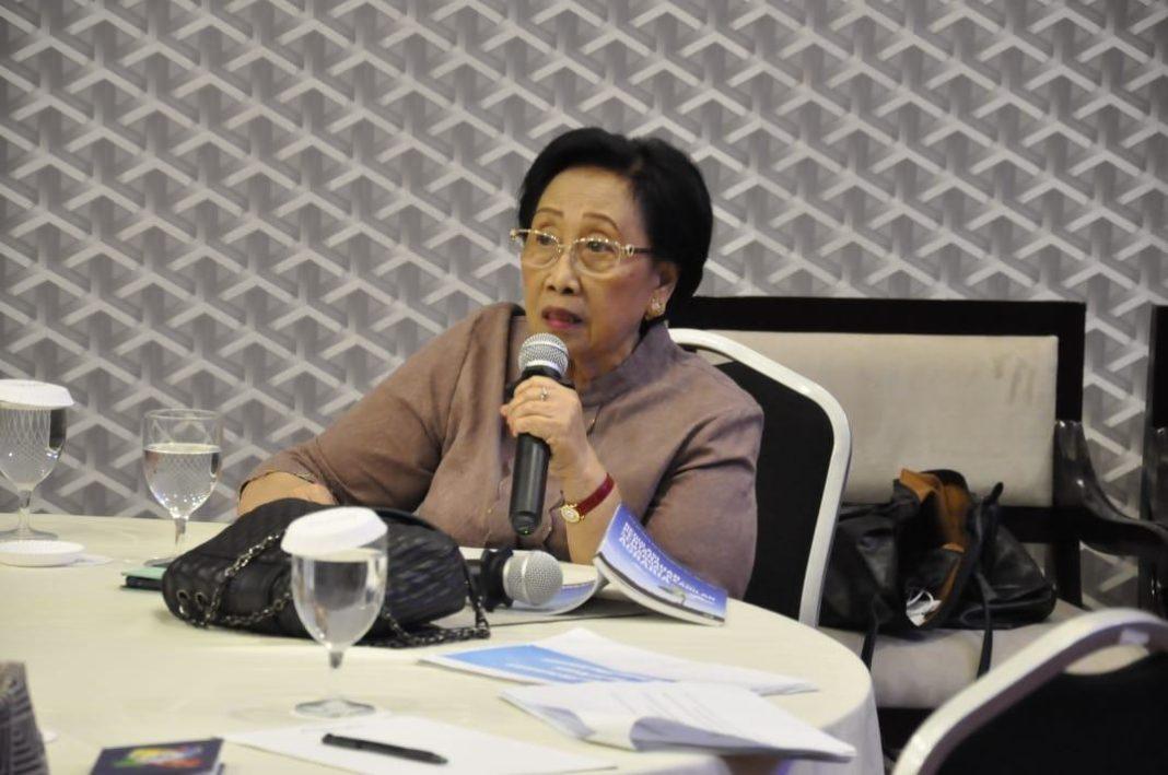 Prof. Dr. Maria SW Sumardjono, SH, MCL, MPA, Guru Besar Imu Hukum Agraria dari Fakultas Hukum UGM