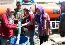 Lazismu dan Kagama Sinergi Bagikan Air Bersih