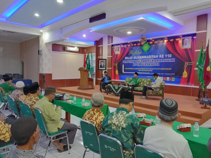 Refleksi Milad Muhammadiyah ke 110 di Surakarta