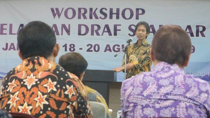 BSNP Gelar Workshop Penelaahan Draft Standar Isi