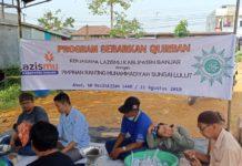 Lazismu Banjar gelar Program Tebar Qurban ke Daerah Terpencil