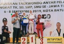 Bilqis, Siswi SDI Aisyiyah Jatinom Blitar Raih Medali Emas Taekwondo Pemprov Jatim