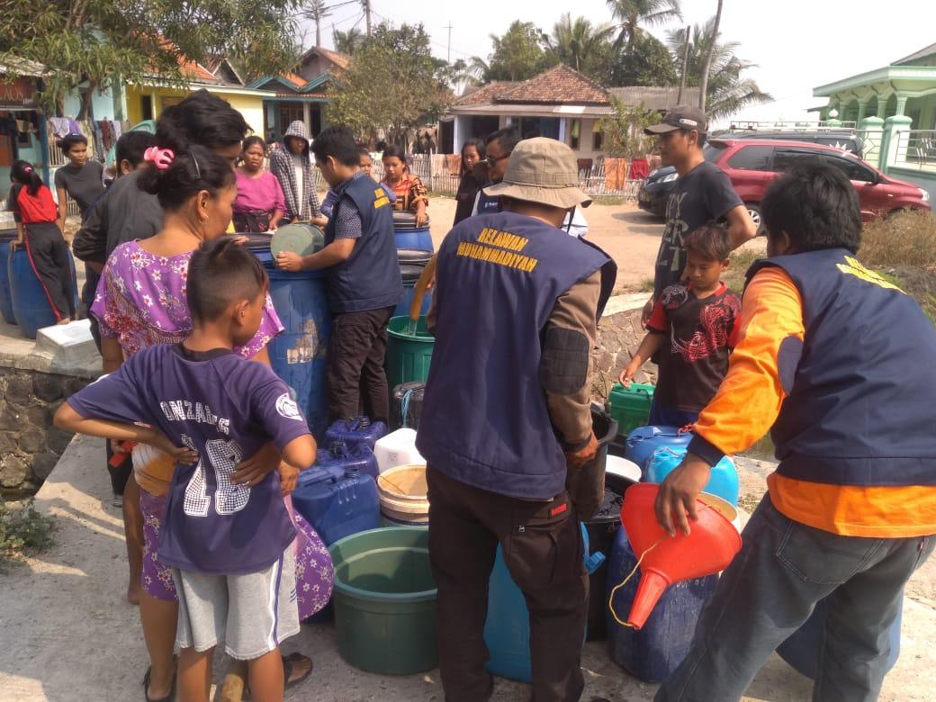 MDMC Banten Beri Bantuan Air Bersih