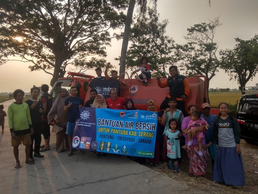 MDMC Banten Bantu Air Bersih Bagi Warga di Dua Kampung di Serang